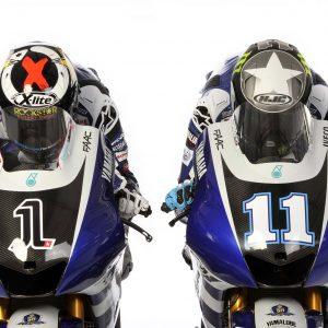 Yamaha Factory Racing - Livery Presentation 2011 - Jorge Lorenzo And Ben Spies