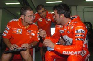 Capirossi in Ducati