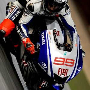 Jorge Lorenzo - Fiat Yamaha Team