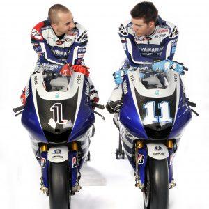 Jorge Lorenzo, Ben Spies - Yamaha Factory Racing