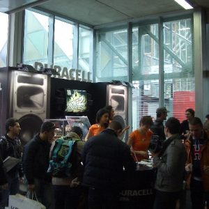 Lo stand Duracell al Motorshow 2008