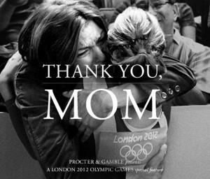 Procter & Gamble thank you mom
