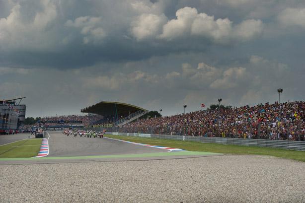 Assen Dutch TT GP MotoGP 2012 - Race Start
