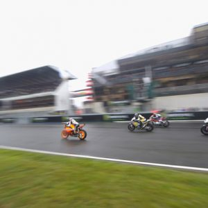 Moto 2 - motoGP GP Le Mans France - Race start