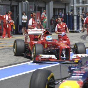 Box Ferrari- Gp Germania