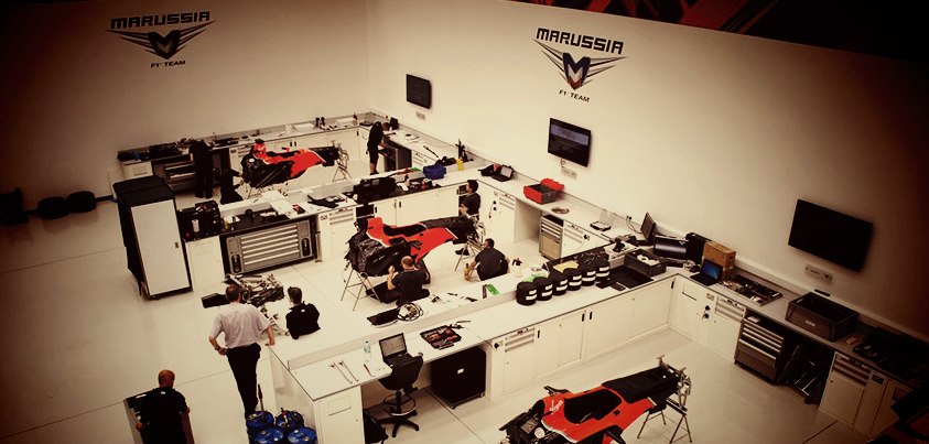 marussia factory