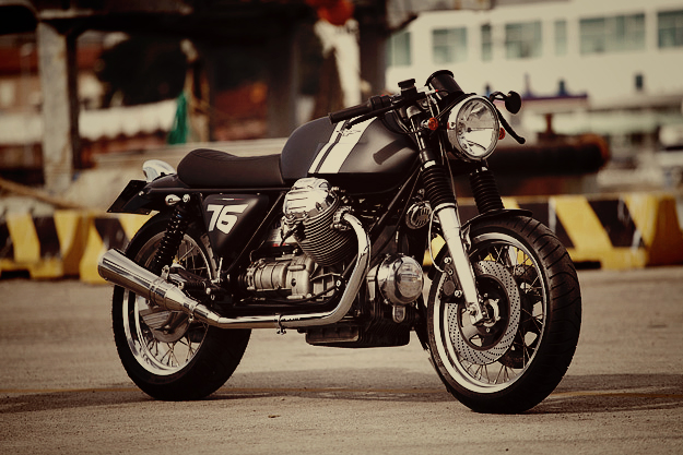 Ride of the Day: RossoPuro x MotoGuzzi SP 1000 Cafè Racer