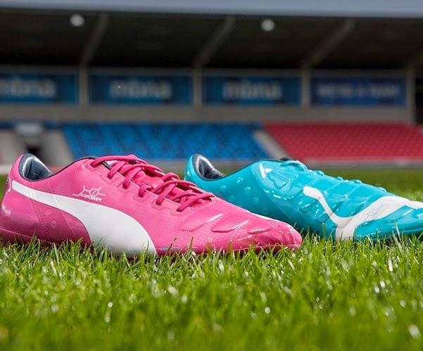 Brasile 2014: Puma tinge di rosa e di azzurro i mondiali di calcio