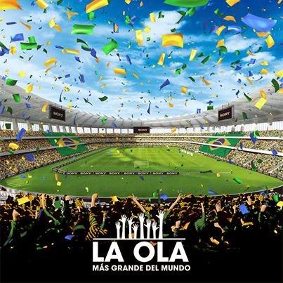 Sports marketing: Sony prepara la Ola più grande del mondo