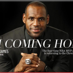 Lebron james miami heat cleveland cavaliers money marketing