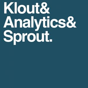 Klout Analytics Sprout