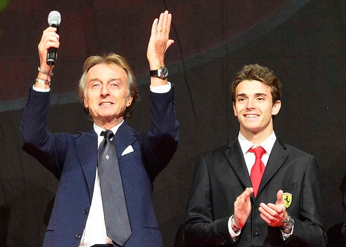 """F1: Luca di Montezemolo garantisce """"A Bianchi sarebbe andata la terza Ferrari"""""""