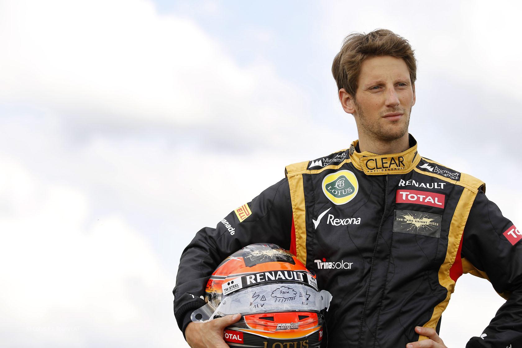 """F1: Grosjean rimane alla Lotus """"è un buon posto dove essere"""""""