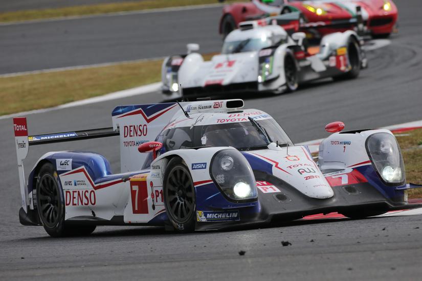 WEC: Dominio Toyota al Fuji