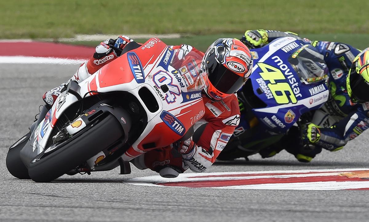 Ducati Press Release: Uno splendido secondo posto per Dovizioso. Iannone 5° in Texas