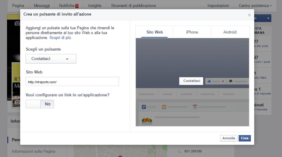 rtr sports marketing facebook tendenze1