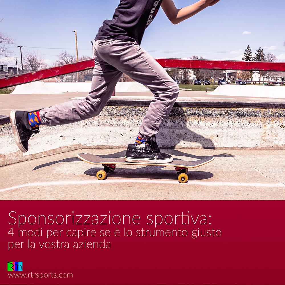 sponsorizzazione sportiva