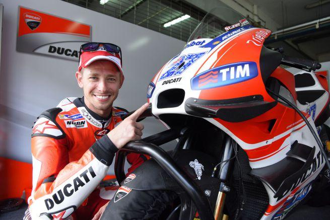 MotoGP: prima uscita di Stoner con la Ducati ai test di Sepang