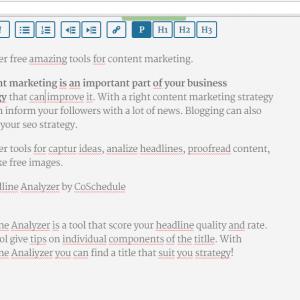 content marketing strumento