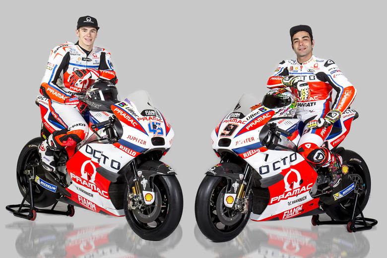 MotoGP: Yakhnich Pramac presenta il nuovo team e festeggia i 15 anni