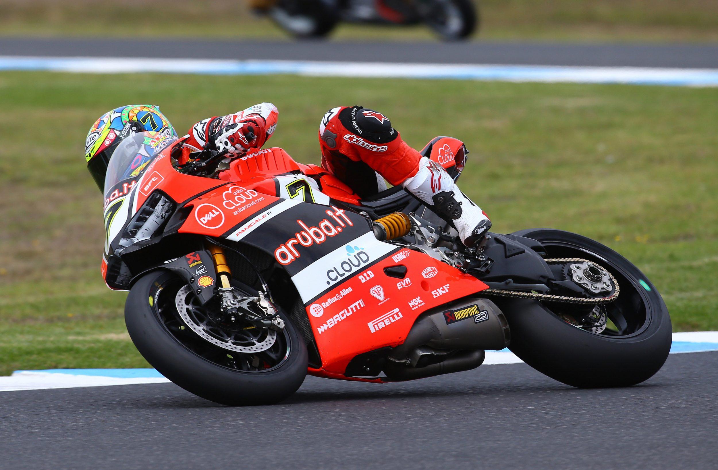 Superbike Aruba.it Racing-Ducati torna in pista a Phillip Island
