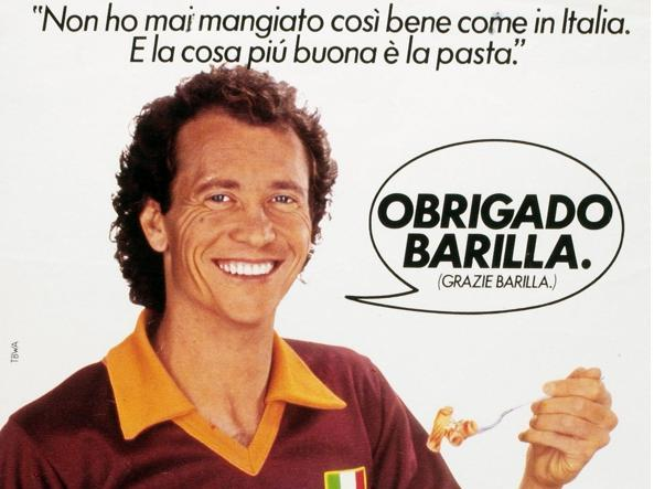 Un classico della sponsorizzazione sportiva: il rapporto fra Barilla e Roma Calcio