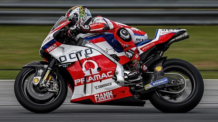 MotoGP: Petrucci 1° nella prima giornata di test in Australia