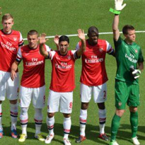 sponsorizzazione sportiva Arsenal Emirates