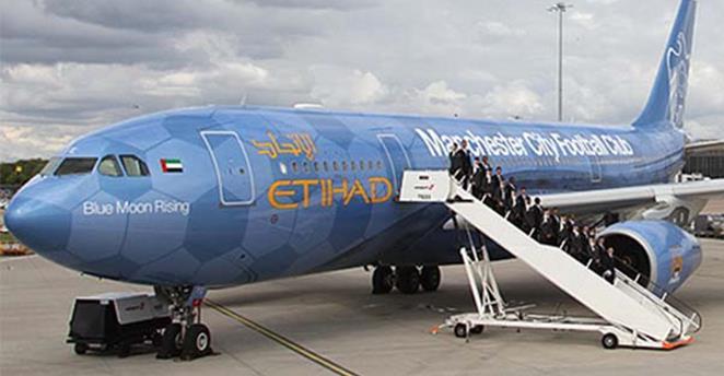manchester city etihad aereo