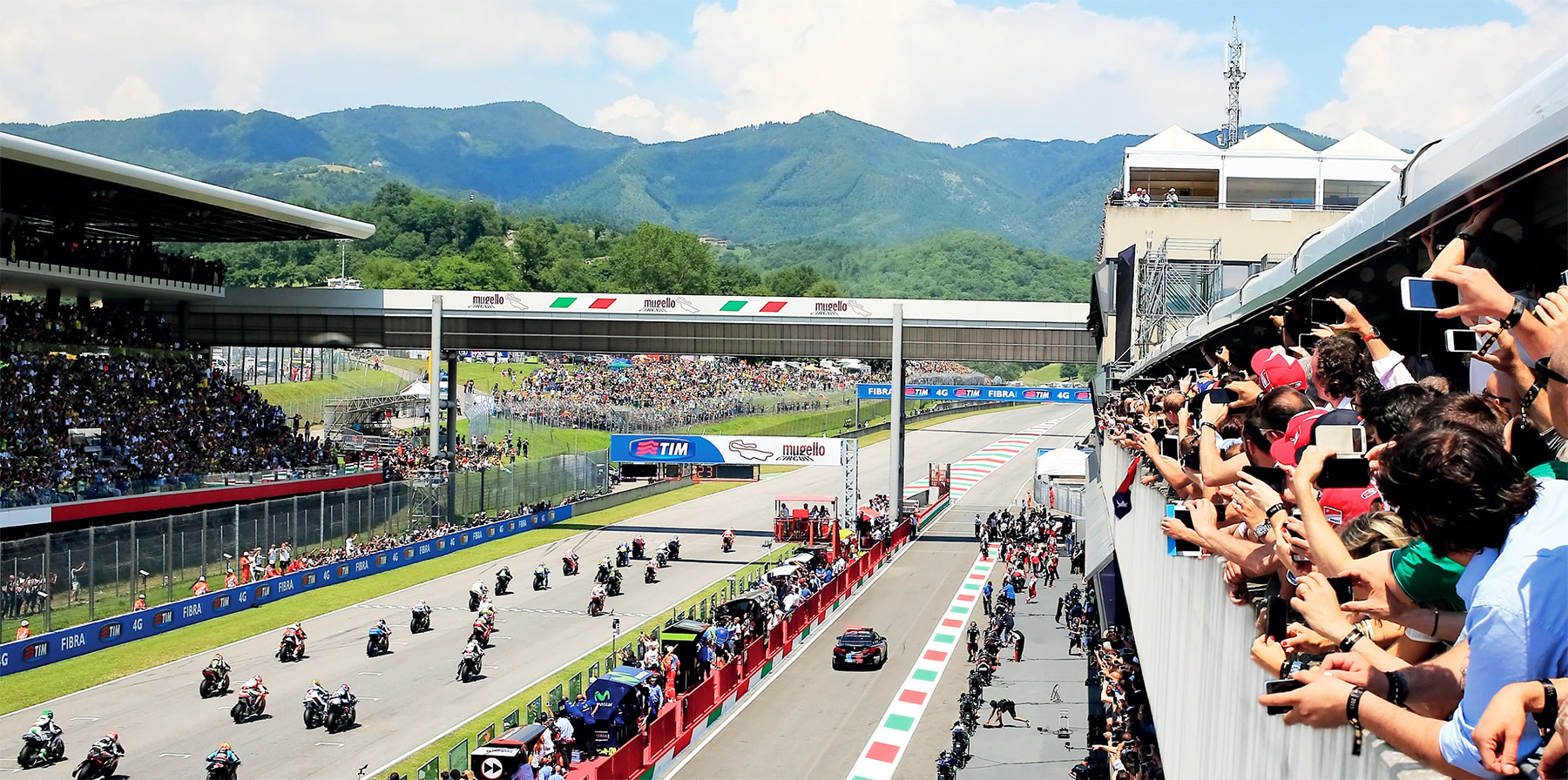 MotoGP VIP Village: Red Bull al MotoGP Gran Premio d'Italia 2016