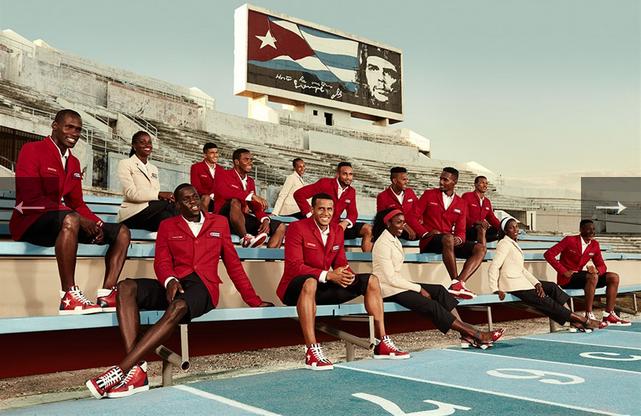 La modernità corre consumando suole rosse, Louboutin e le divise di Cuba