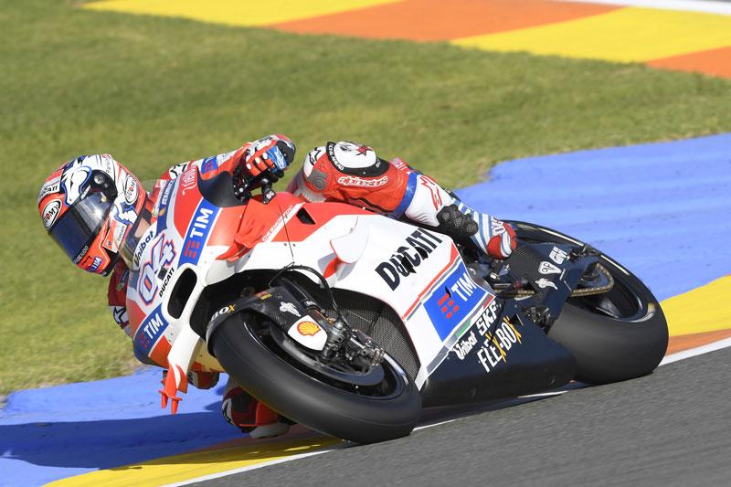MotoGP: Dovi 5°a Valencia. Iannone partirà dalla terza fila