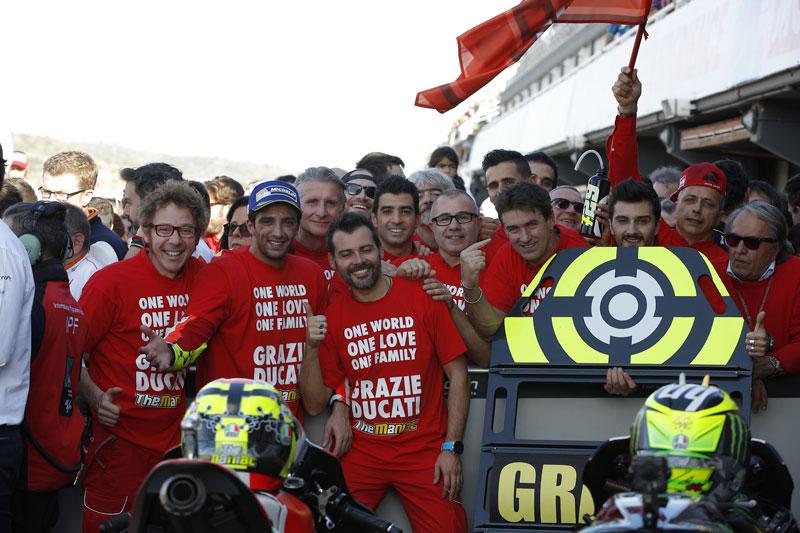 MotoGP: Iannone chiude l'avventura Ducati con un Podio
