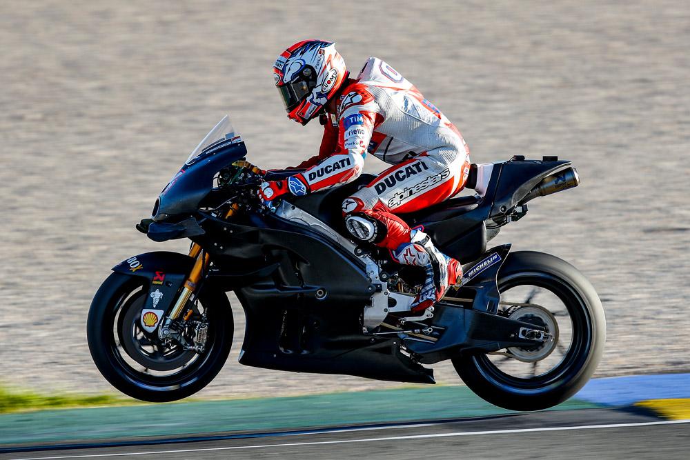 MotoGP: Lorenzo, Dovizioso concludono i primi test IRTA a Valencia