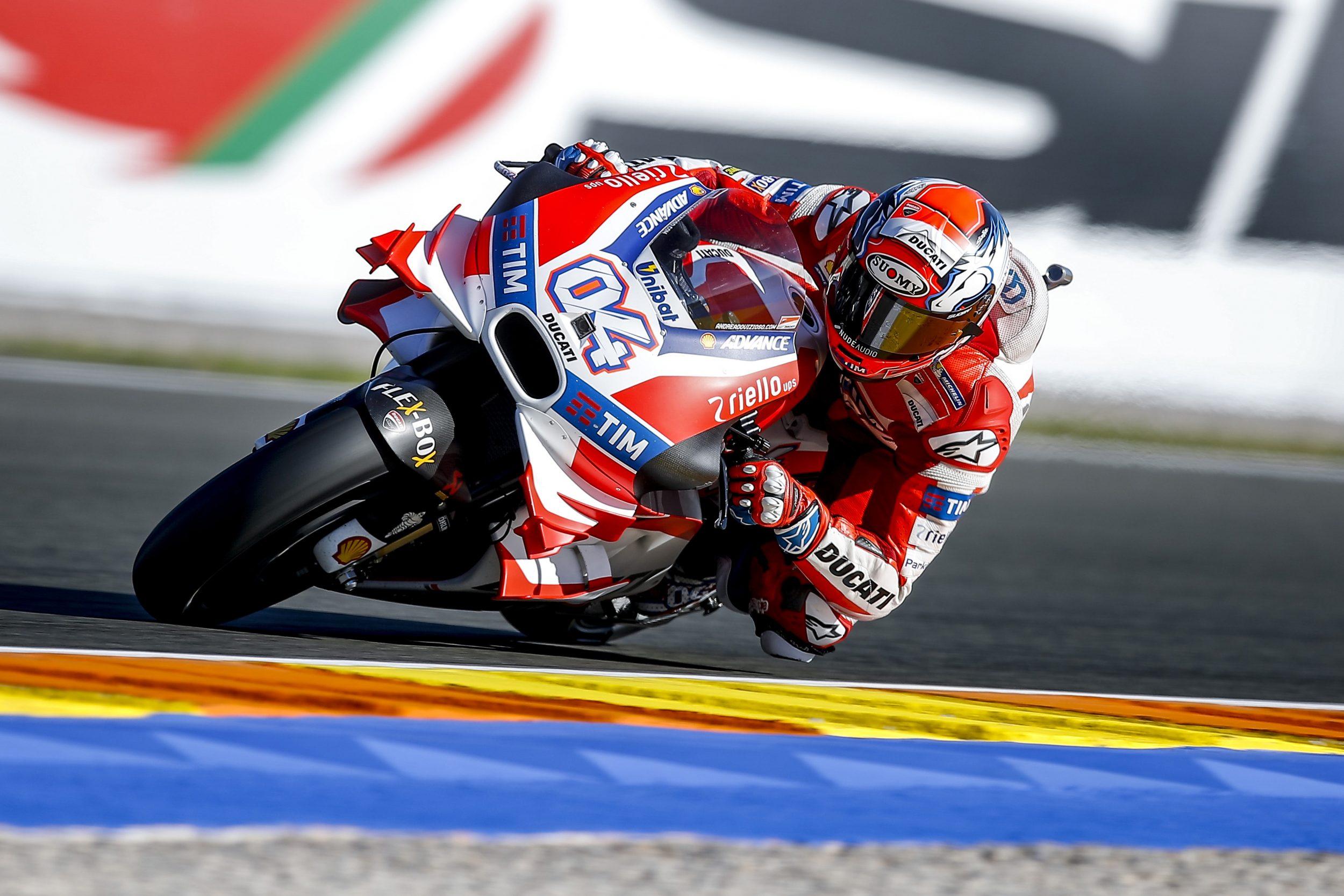 MotoGP: avvio positivo per le Ducati a Valencia
