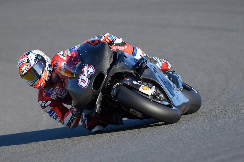 MotoGP: Ducati subito forte ai test di Valencia
