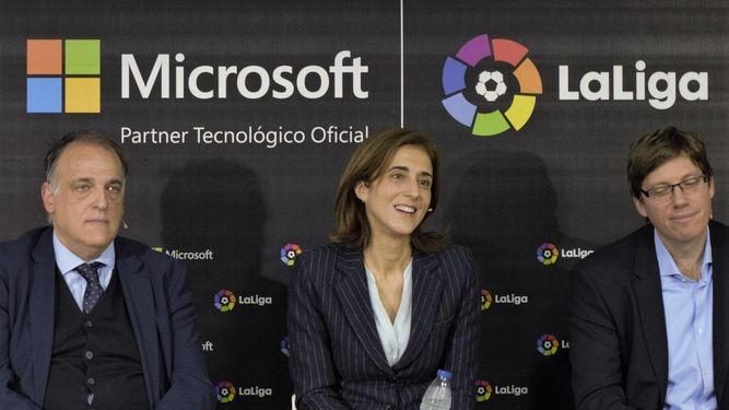 Sponsorizzazione: LaLiga e Microsoft insieme per il futuro del calcio spagnolo