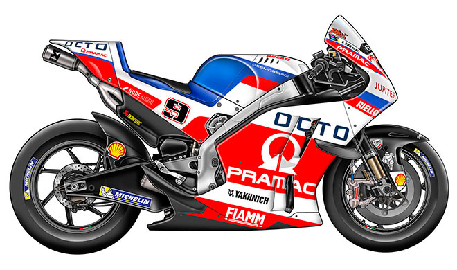 Line Up MotoGP 2017