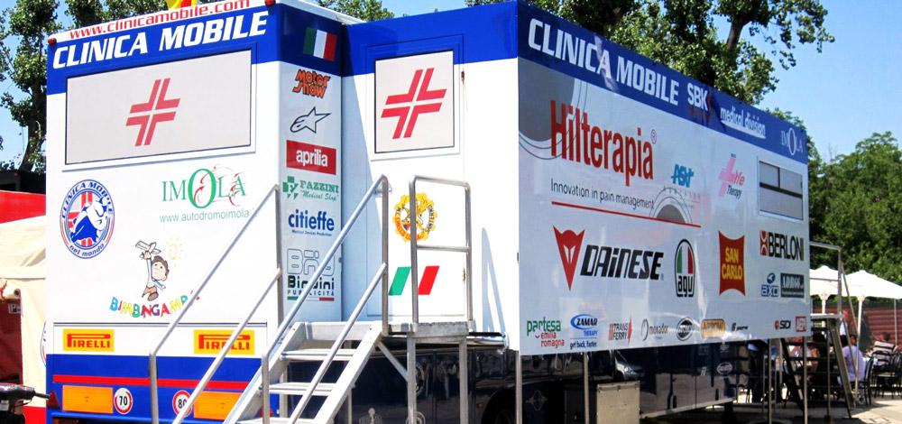 Corman e la Clinica Mobile MotoGP
