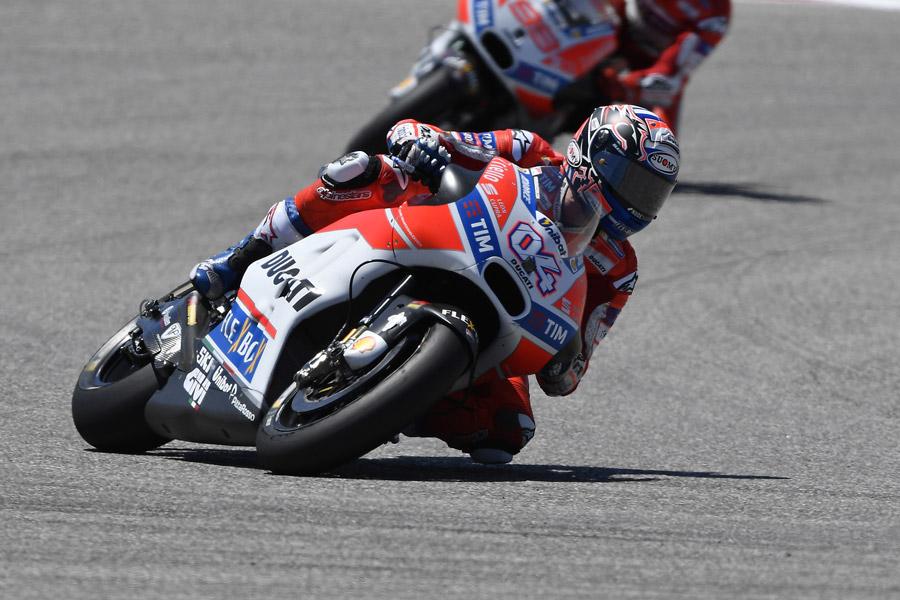 GP of The Americas: classifica di Dovizioso e Lorenzo