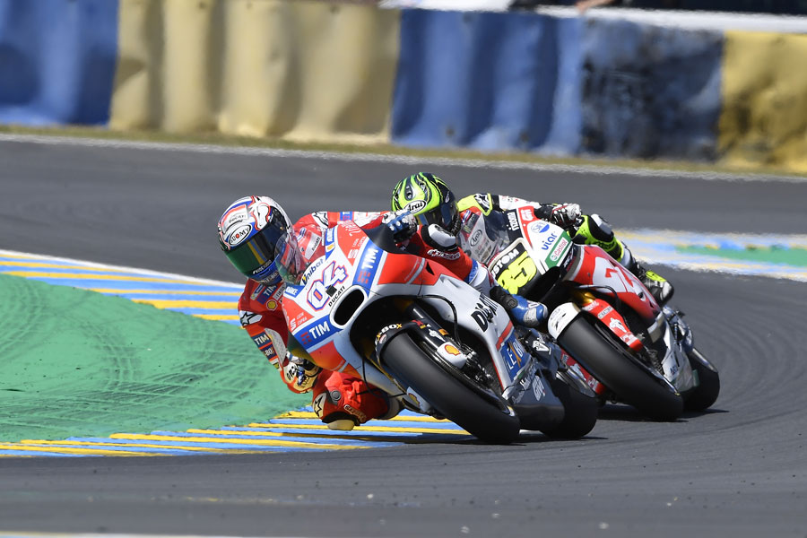 Ducati: Dovi 4° a Le Mans, Lorenzo è 6°