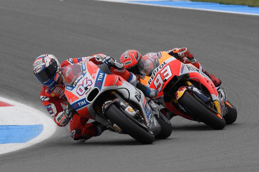 Ducati, Dovizioso in testa al Mondiale MotoGP. Problemi per Lorenzo